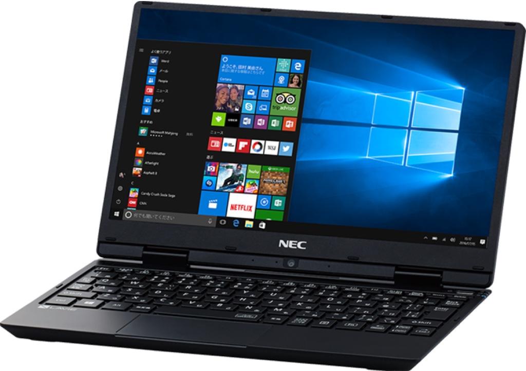 NEC LAVIE Note Mobile Windows ウィンドウズ ノートパソコン ノートPC スペック 性能 2017年