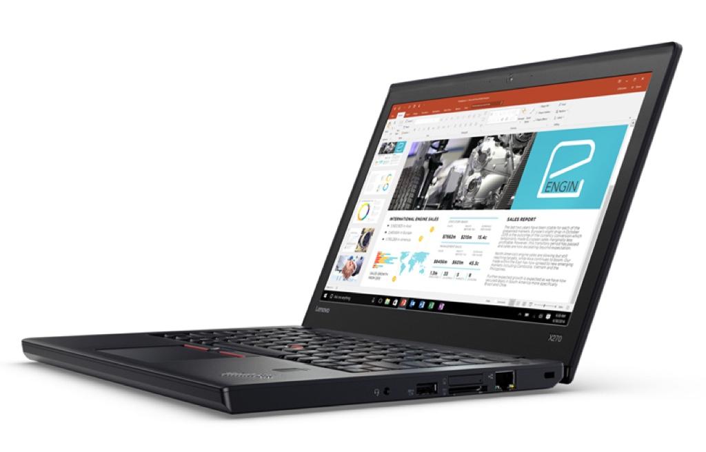 Lenovo ThinkPad X270 レノボ Windows ウィンドウズ ノートパソコン ノートPC スペック 性能 2017年