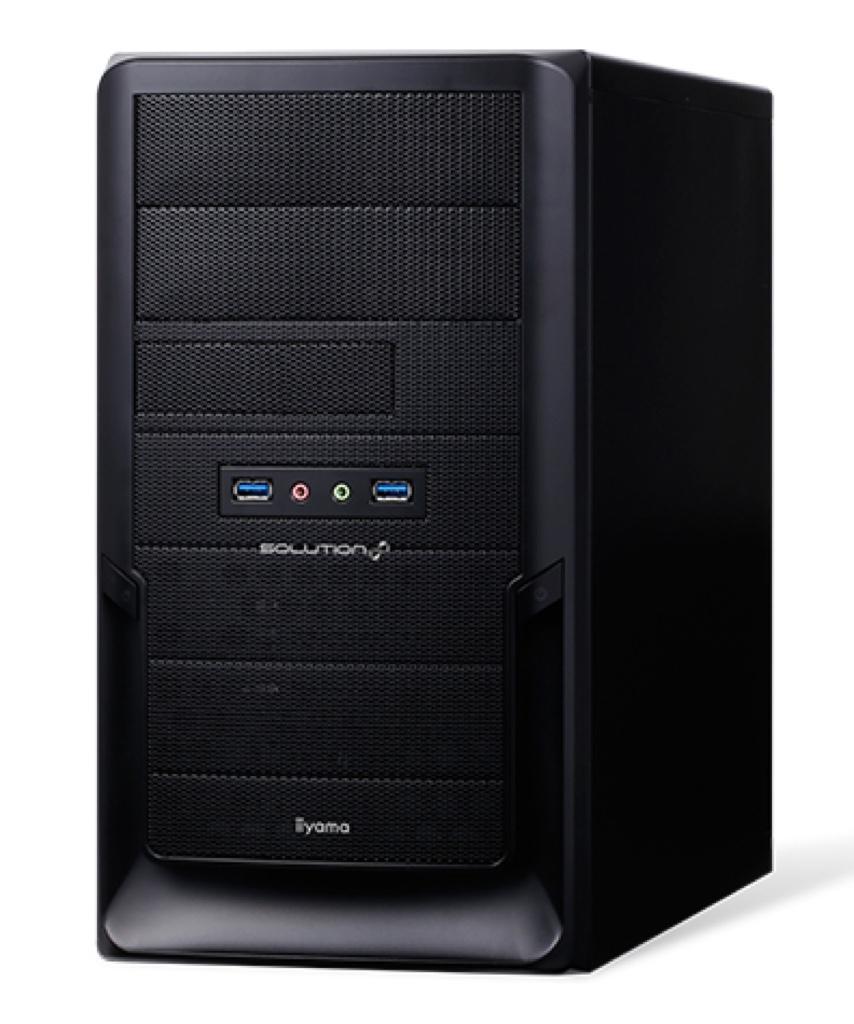 SOLUTION-M022-i7-HN パソコン工房 ユニットコム Windows ウィンドウズ デスクトップパソコン デスクトップPC スペック 性能 2017年