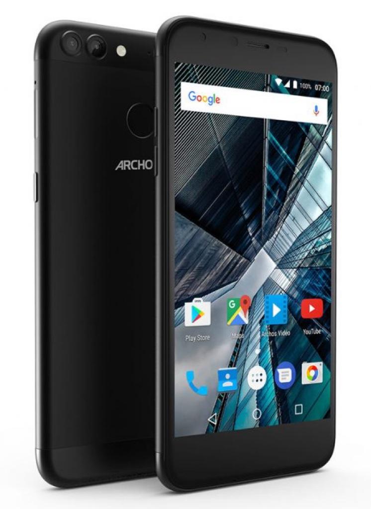 ARCHOS 55 Graphite アルコス Android アンドロイド スマートフォン スマホ スペック 性能 2017年