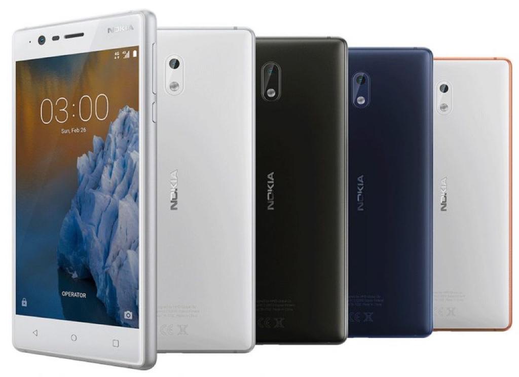 Nokia 3 ノキア ndroid アンドロイド スマートフォン スマホ スペック 性能 2017年