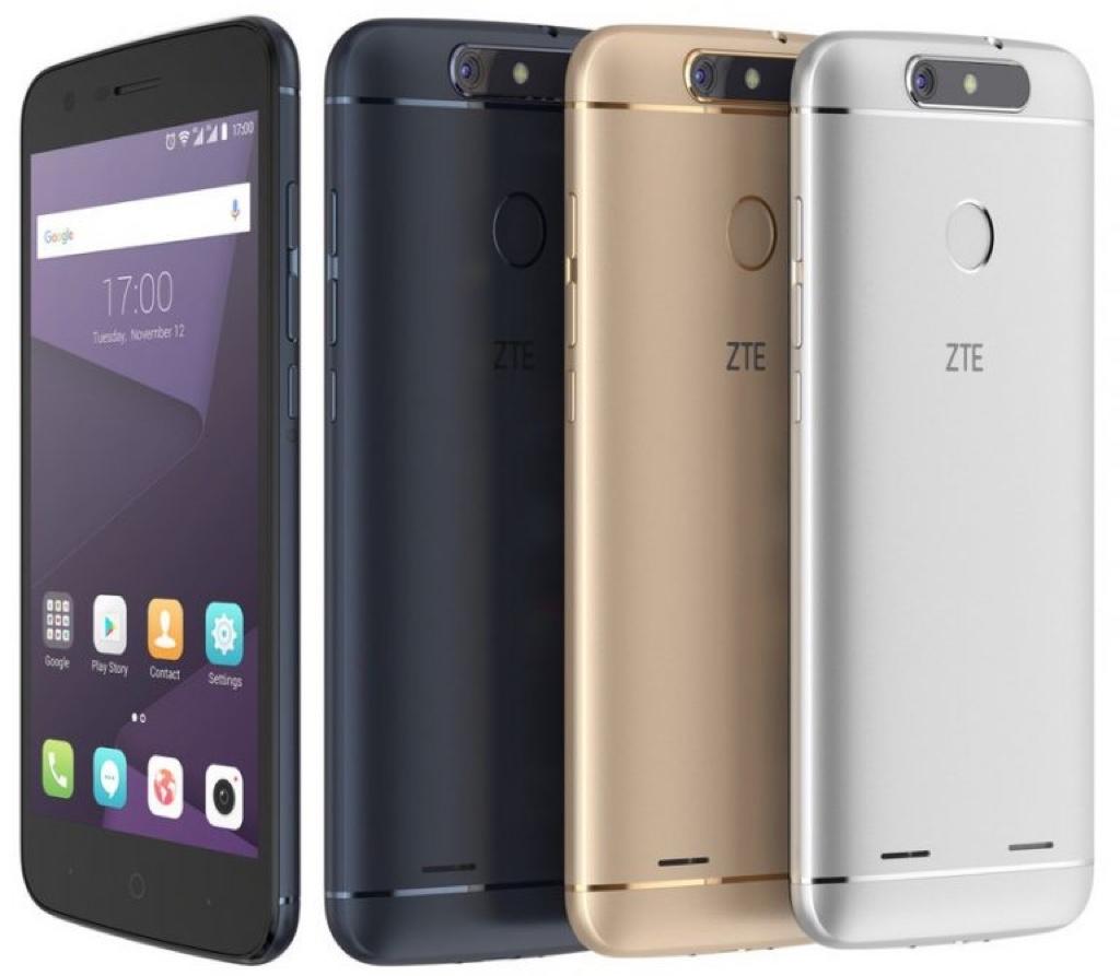 ZTE Blade V8 Lite ブレイド ブレード Android アンドロイド スマートフォン スマホ スペック 性能 2017年