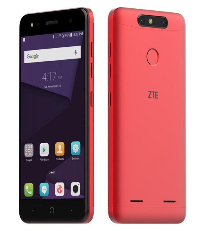 ZTE Blade V8 Mini ブレイド ブレード Android アンドロイド スマートフォン スマホ スペック 性能 2017年