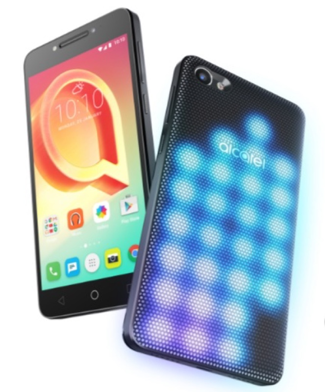 Alcatel A5 LED Key アルカテル Android アンドロイド スマートフォン スマホ スペック 性能 2017年