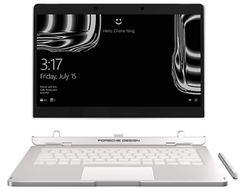 Porsche Design BOOK ONE ポルシェデザイン Windows ウィンドウズ ノートパソコン ノートPC 2-in-1 スペック 性能 2017年