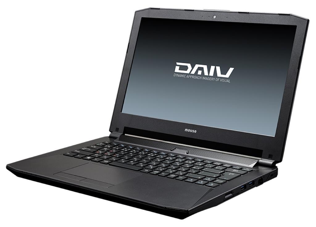 DAIV-NG4500E1-S2 マウスコンピューター Windows ウィンドウズ ノートパソコン ノートPC スペック 性能 2017年