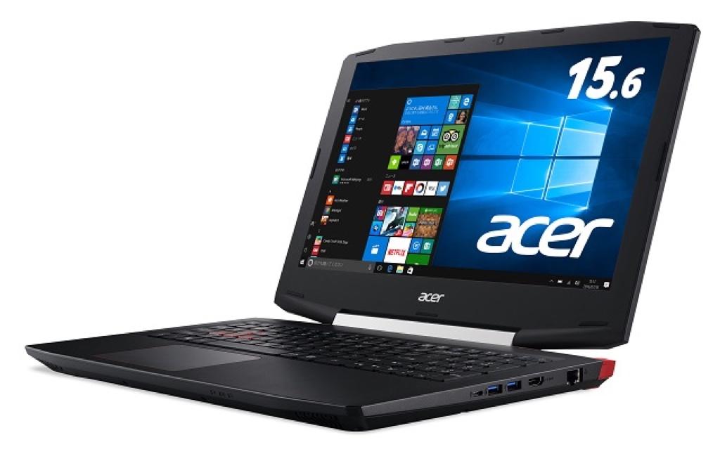 Aspire VX 15 (VX5-591G-H58G) Acer エイサー Windows ウィンドウズ ノートパソコン ノートPC スペック 性能 2017年