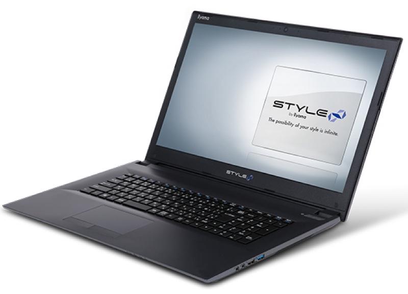 STYLE-17FH053-i7-HNFS iiyama ユニットコム パソコン工房 Windows ウィンドウズ ノートパソコン ノートPC スペック 性能 2017年