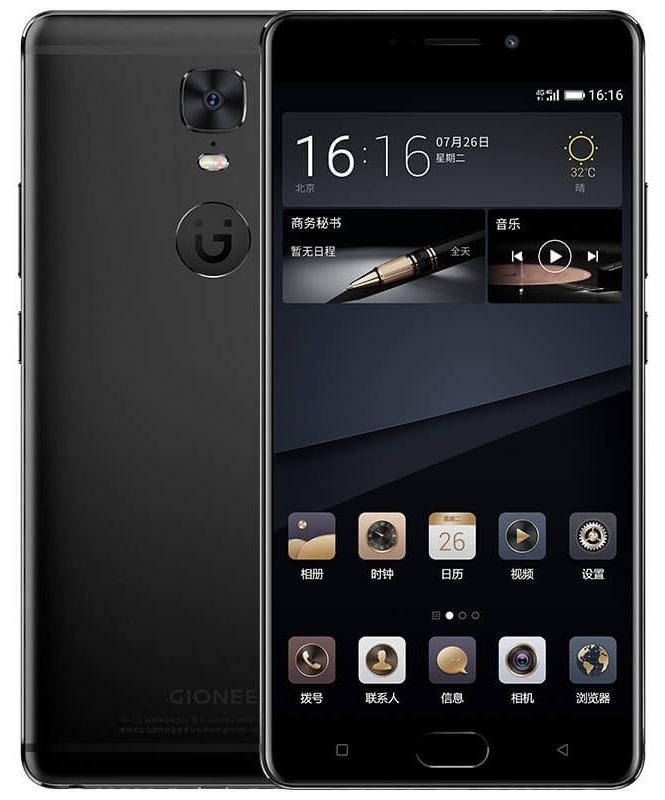 Gionee M6S Android アンドロイド スマートフォン スマホ スペック 性能 2017年