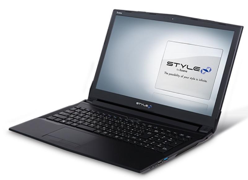 STYLE-15FH060-i7-LSS パソコン工房 ユニットコム iiyama BTO Windows ウィンドウズ ノートパソコン ノートPC スペック 性能 2017年
