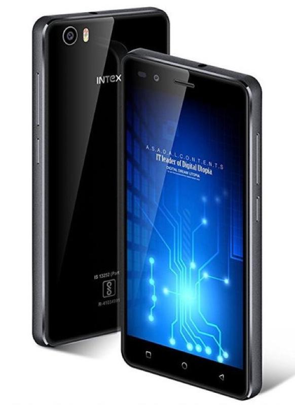 Intex Aqua Crystal+ Android アンドロイド スマートフォン スマホ スペック 性能 2017年