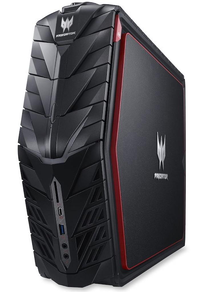 Acer Predator G1-710-H76J/G エイサー プレデター Windows ウィンドウズ デスクトップパソコン デスクトップPC スペック 性能 2017年 ゲーミングパソコン