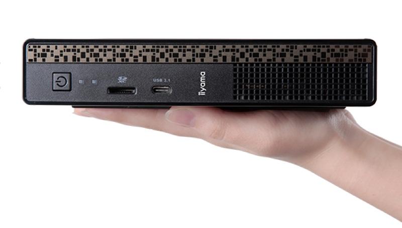 SOLUTION-IL11-i7S-HN iiyama パソコン工房 ユニットコム Windows ウィンドウズ デスクトップパソコン デスクトップPC スペック 性能 2017年 ブックサイズ 手のひらサイズ