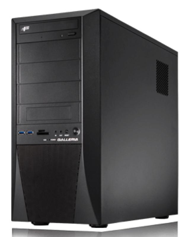 GALLERIA ZG 8700K iiyama パソコン工房 ユニットコム Windows ウィンドウズ デスクトップパソコン デスクトップPC スペック 性能 2017年