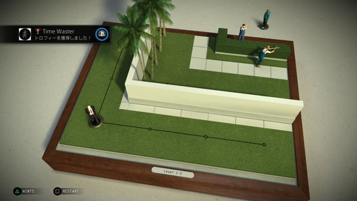Hitman Go Time Waster