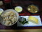 新梅田食道街の「奴」でワンコインセットの「かやくごはん」