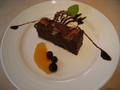 [旅][カフェ][ごはん]Raffles Cafeのガトーショコラ