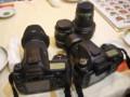 [ごはん][カメラ]デジイチ2台にレンズ4本