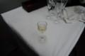 [うおがし銘茶]茶・銀座 六周年記念祭 3階で食前酒