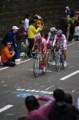 [自転車][イベント]JAPAN CUP 2008 2周目 日本人3選手による逃げ