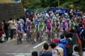 [自転車][イベント]JAPAN CUP 2008 2周目 メイン集団は笑顔で上る