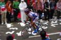 [自転車][イベント]JAPAN CUP 2008 鈴木真理選手が上りですこしだけ遅れる(けど上位でゴール