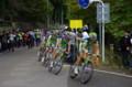 [自転車][イベント]JAPAN CUP 2008 10周目 リクイガスがペースを上げて引きまくる