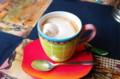 [カフェ]COCOA AKAI TORIでアリス・ベルガモット・チョコレート