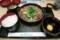 キッチン スギモトで「黒毛和牛すき鍋」(800円)