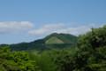 [旅][カフェ]吉田山から見る大文字