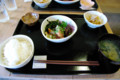[旅][ごはん]梅山鉄平食堂のゴマサバ定食