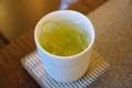 [うおがし銘茶]茶・銀座2階でたぶん「かぜまかせ」の冷茶