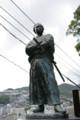 [旅][散歩]若宮稲荷神社の龍馬像