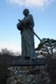 [旅][散歩]風頭公園の龍馬像
