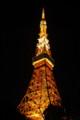 [散歩]東京タワーのクリスマスライトアップ