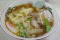 [ごはん]中園亭でワンタン麺
