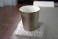 [うおがし銘茶]茶・銀座 山下マキさん作の湯飲み