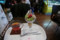 Cafe du glaceでアイスクリームのパフェ