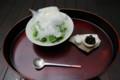 [うおがし銘茶]茶・銀座 3階 大人のかき氷