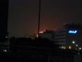 [自転車][花火]東京湾の花火を多摩川河口から見る