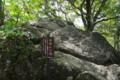 [散歩]筑波山 セキレイ石