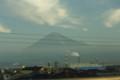 [のりもの]新幹線から見る富士山