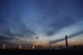 [自転車]晴海大橋から見る空