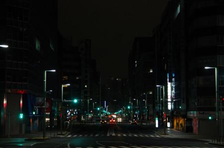 日本橋から眺める銀座
