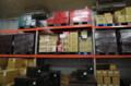 [うおがし銘茶][イベント]新茶塾 2011 第2回 第一工場 倉庫のトイレットペーパー