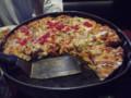 [旅][ごはん]シカゴスタイルのディープディッスピザ
