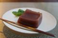 [うおがし銘茶]茶・銀座 2階で伊賀上野 桔梗屋の「小豆憧風」
