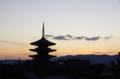[旅][散歩]高台寺から八坂の五重塔