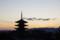 高台寺から八坂の五重塔