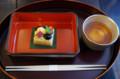 [うおがし銘茶][イベント]茶・銀座 10周年 馳走 卒啄 小さな秋の吹き寄せ